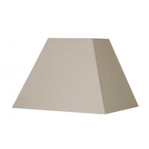 Abat-jour carré pyramide chanvre