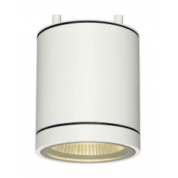 ENOLA_C OUT CL plafonnier rond blanc 9W LED 3000K 35°