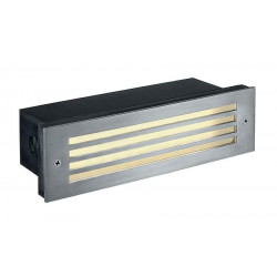 BRICK MESH LED INOX 316 encastré de plafond 4W LED blanc chaud IP54