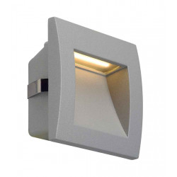 DOWNUNDER OUT LED S encastré mural gris argent LED 096W 3000K 40lm IRC80