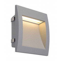 DOWNUNDER OUT LED L encastré mural gris argent LED 096W 3000K 155lm IRC80