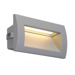 DOWNUNDER OUT LED M encastré mural gris argent LED 096W 3000K 155lm IRC80