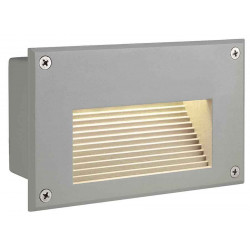BRICK LED DOWNUNDER encastré rectangulaire gris argent LED 3000K