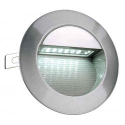 DOWNUNDER LED 14 encastré alu brossé 08W 6500K IP44