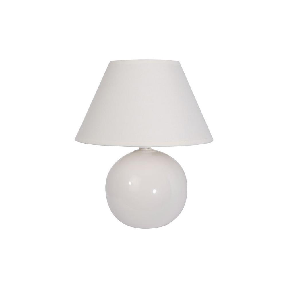 Lampe de chevet blanc ivoire pas cher for Applique lampe de chevet