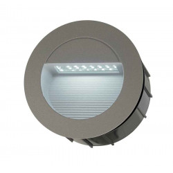 DOWNUNDER LED 14 encastré gris foncé 08W 6500K IP44