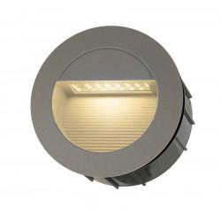 DOWNUNDER LED 14 encastré gris foncé 08W 3000K IP44