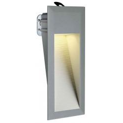 DOWNUNDER LED 15 encastré mural gris foncé 09W blanc IP44