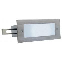BRICK LED 16 inox 304 encastré brossé 1W 5700K IP44