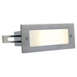 BRICK LED 16 inox 304 encastré brossé 1W 3000K IP44