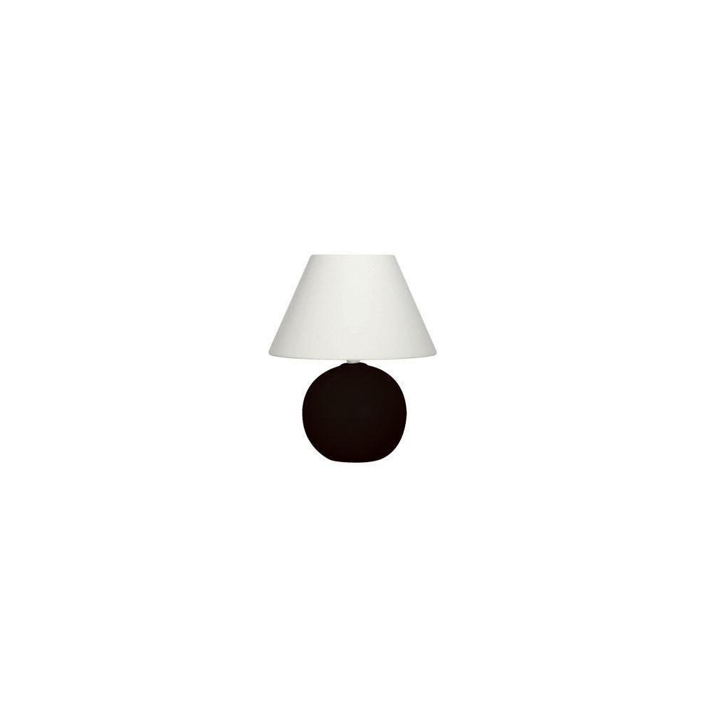 lampe de chevet noire pas cher en c ramique. Black Bedroom Furniture Sets. Home Design Ideas