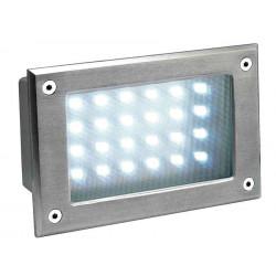 BRICK LED 24 inox 304 encastré inox brossé 5W 5700K IP54