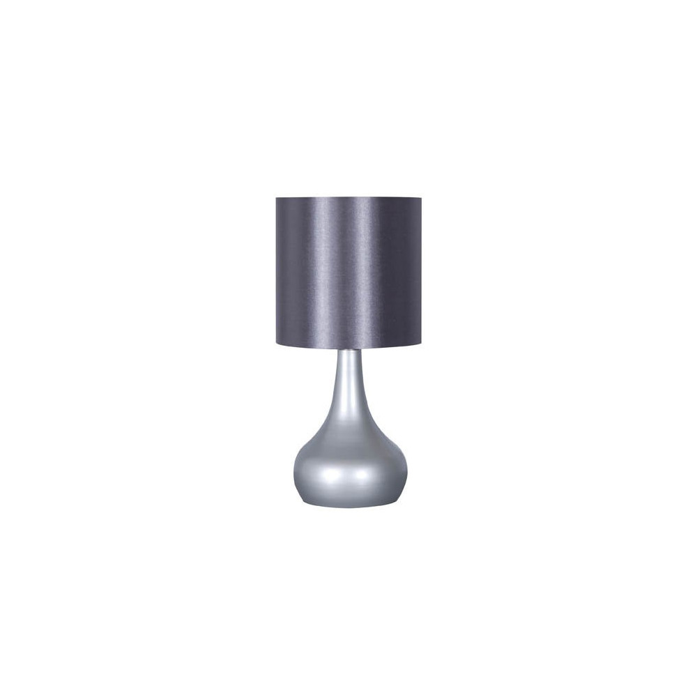 Lampe de chevet tactile argent e vente lampe tactile pas cher for Lampe de chevet originale pas cher