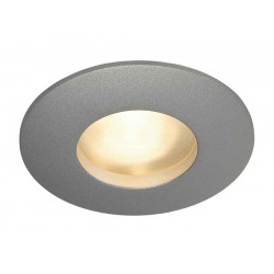 OUT 65 encastré rond gris argent MR16 max 35W