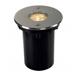 DASAR LED 230V encastré rond collerette inox 316 6W 3000K IP67