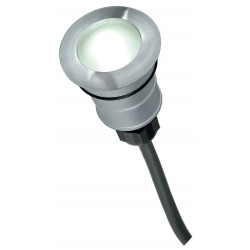 POWER TRAIL-LITE rond inox 316 1W LED 5700K IP67