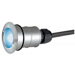 POWER TRAIL-LITE rond inox 316 1W LED bleue IP67