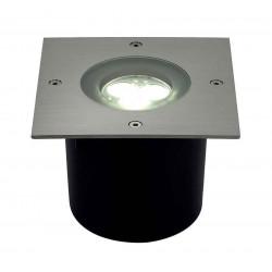 WETSY POWER LED encastré carré inox 316 3x 1W blanc IP67