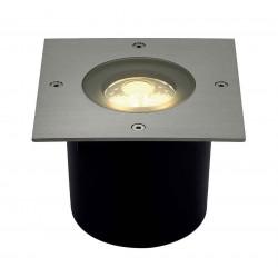 WETSY POWER LED encastré carré inox 316 3x 1W blanc chaud IP67