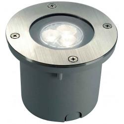 WETSY POWER LED encastré rond inox 316 3x 1W blanc IP67