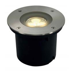 WETSY POWER LED encastré rond inox 316 3x 1W blanc chaud IP67