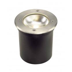 ROCCI ROND 6W LED encastré de sol ext Inox 316 3000K IP67