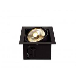 KADUX 1 ES111 encastré carré noir max 50W