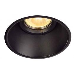 HORN-O GU10 1x noir IP21 50W max