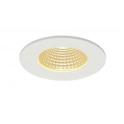 PATTA-I encastré plafond rond blanc 12W 3000K 38° alim incluse
