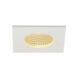 PATTA-I encastré plafond carré blanc 12W 3000K 38° alim incluse