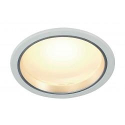 LED DOWNLIGHT 30et3 rond blanc 15W SMD LED 3000K