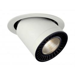 SUPROS MOVE encastré de plafond rond blanc 3000lm 3000K SLM LED 60°