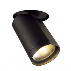 BILAS encastré 60° LED rond noir 20W 2700K