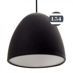 Suspension en silicone noir