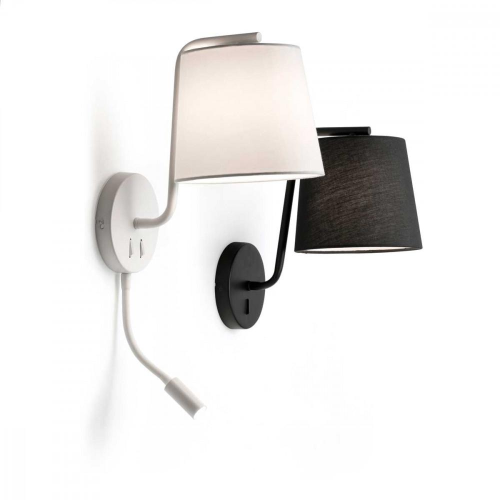 applique lit avec liseuse. Black Bedroom Furniture Sets. Home Design Ideas