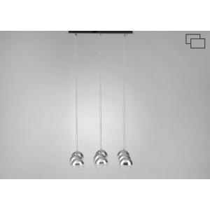 Suspension carrée pour 9 ampoules -60%