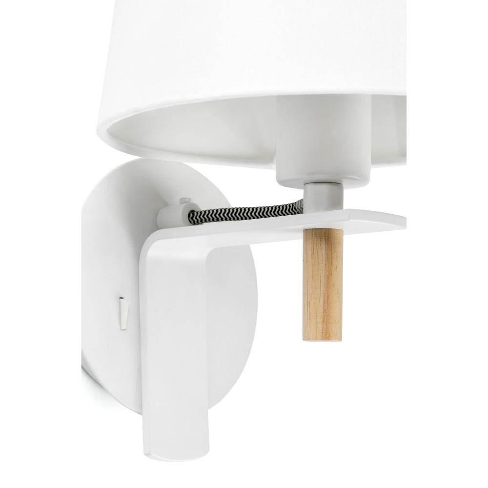 applique m tal et bois avec interrupteur. Black Bedroom Furniture Sets. Home Design Ideas