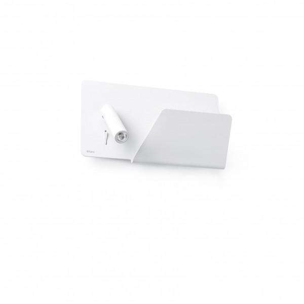 Applique LED droite avec port USB