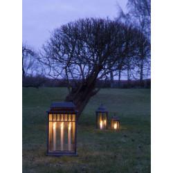 Lanterne rectangulaire pour bougie
