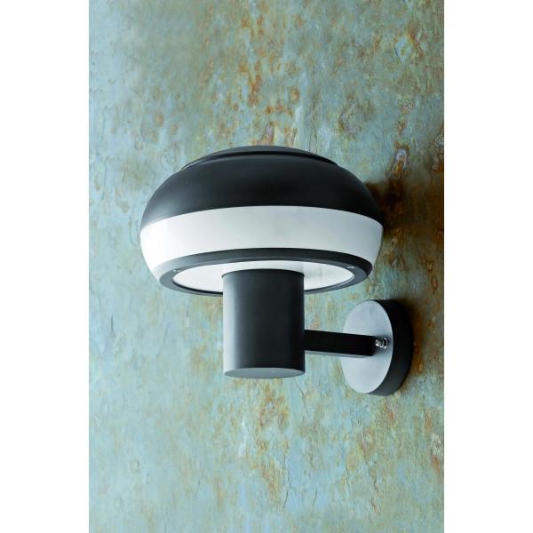 Applique luminaire ext rieur en aluminium gris fonc for Applique murale exterieur galvanise
