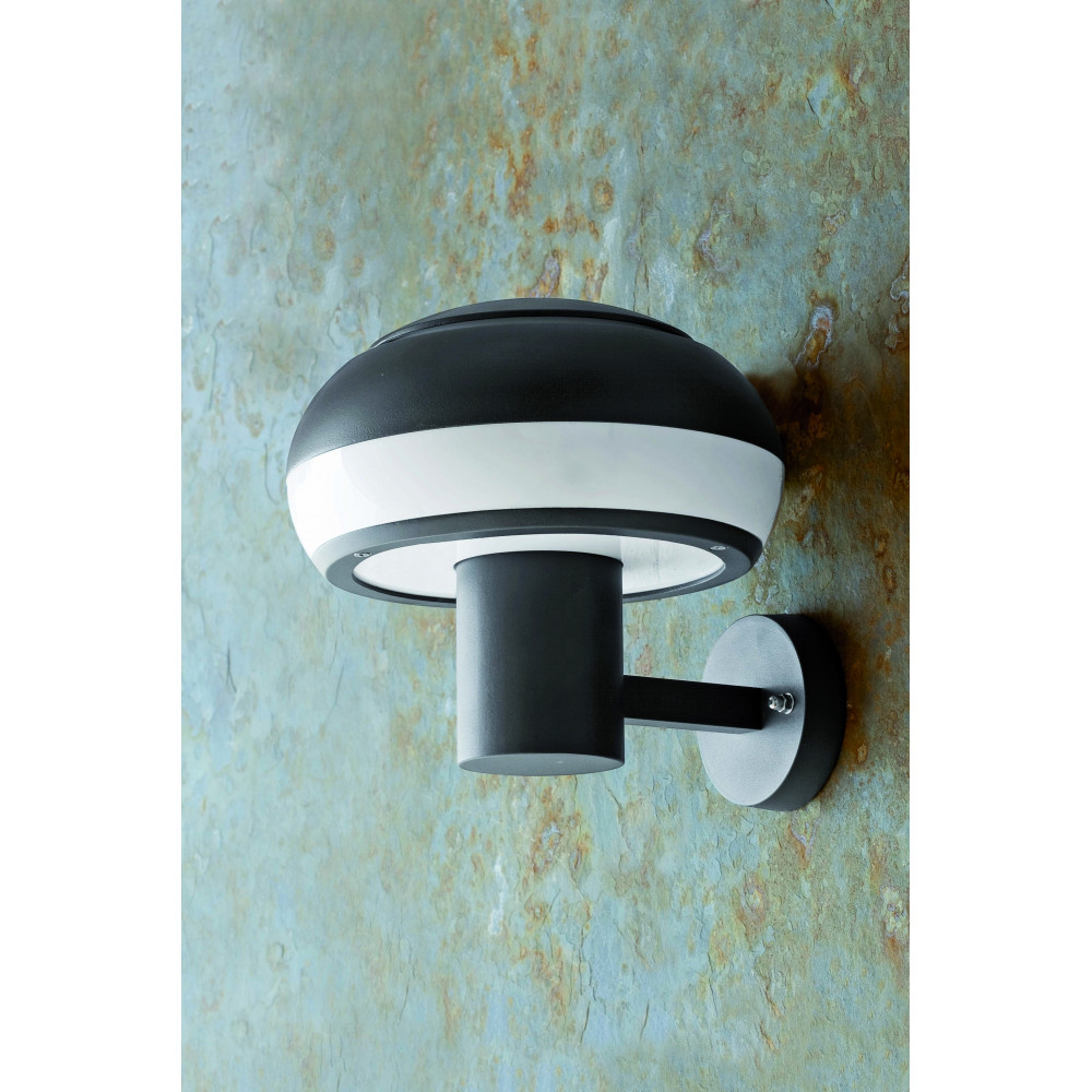 Applique luminaire ext rieur en aluminium gris fonc for Lampe murale exterieur