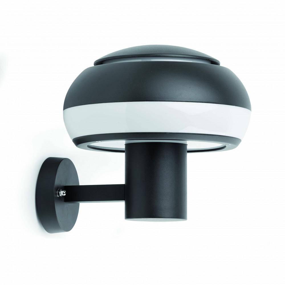applique luminaire ext rieur en aluminium gris fonc. Black Bedroom Furniture Sets. Home Design Ideas