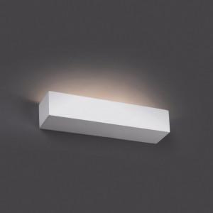 Applique blanche rectangulaire