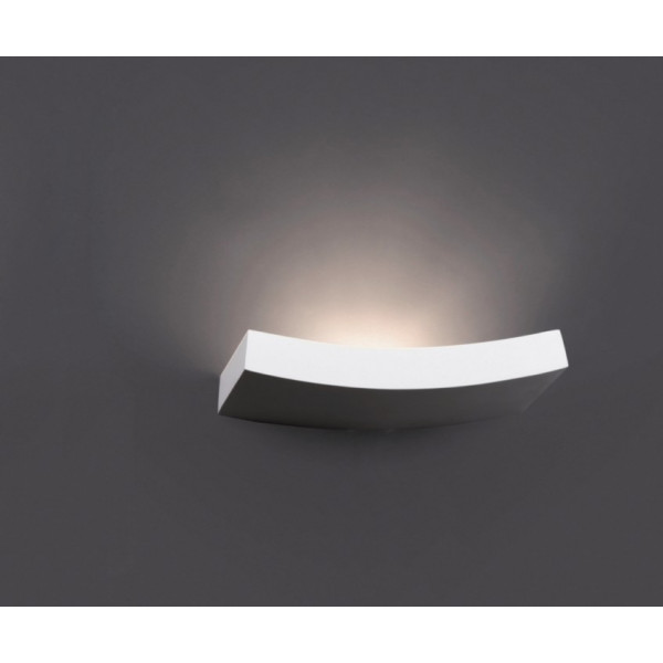 Applique murale blanche design luminaire faro for Applique murale design salon