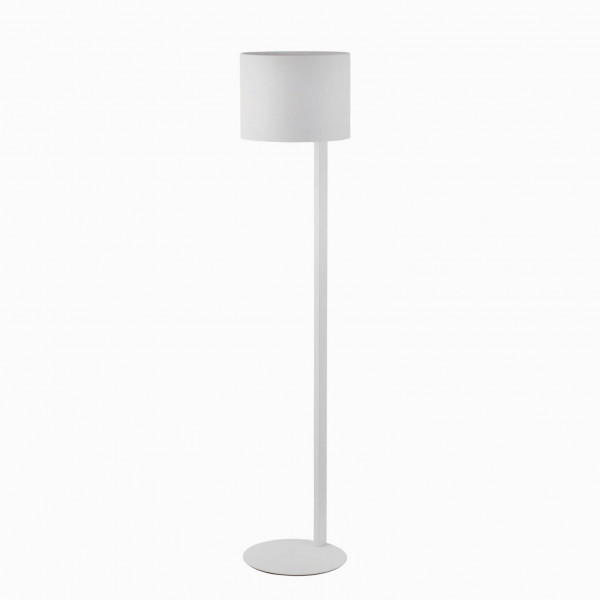 lampadaire design m tal blanc luminaire design faro. Black Bedroom Furniture Sets. Home Design Ideas